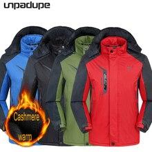 2019 jacket men Autumn Winter Outdoor camping Cashmere coat Mountaineering hoode