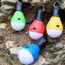 Mini Draagbare Lantaarn Tent Licht LED Lamp Waterdichte Opknoping Haak Zaklamp Voor Camping(China)