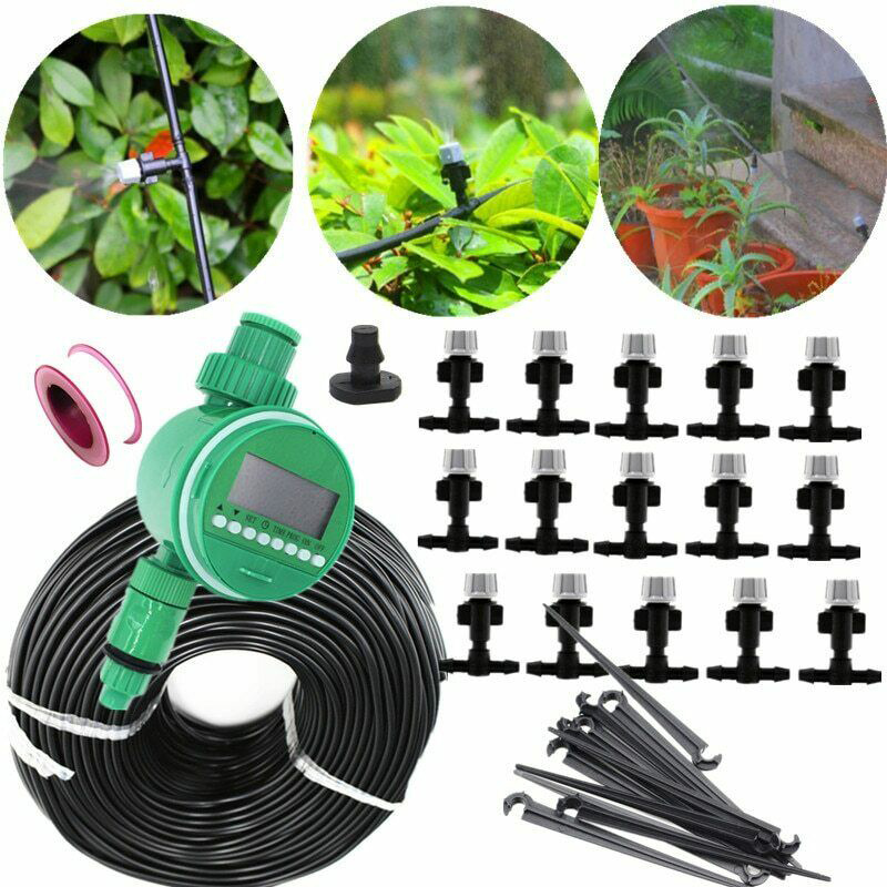 10 M Long Irrigation Drip Irrigation System Automatic Watering Hose Garden Vegetable Garden Micro Drip Watering Kit 10 Dripper