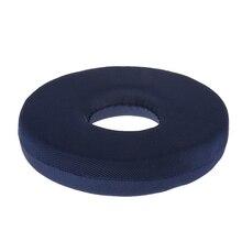 Sponge Foam Cushion Seat Bedsore Hemorrhoid Tailbone Pillow 2 Colors Optional