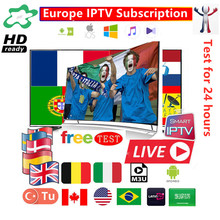 1 год Европа IP tv Испания abonnement DAZN MOTO GP FHD Movistar Спорт Футбол для Смарт ТВ коробка IP tv Smarters X96 Мини Android IOS