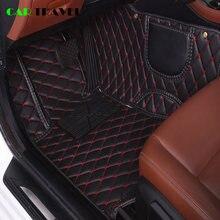 Tapete de carro personalizado de couro, para bmw e30 e34 e36 e39 e46 e60 e90 f10 f30 x1 x3 x4 x5 acessórios para carro x6 1/2/3/4/5/6/7