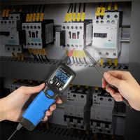 Appareil de contrôle de continuité de Diode de résistance de compteur de tension cc/ca de multimètre numérique d'affichage à cristaux liquides de contre-jour tenu dans la main de HP-38B