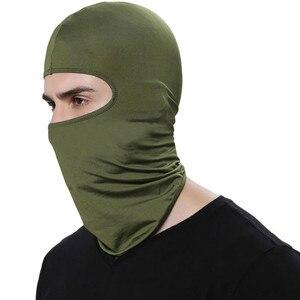 Image 4 - Balaclava Face Mask Motorcycle Tactical Face Shield Breathable Mascara Ski Mask Cagoule Visage Full Face Mask Gangster Mask