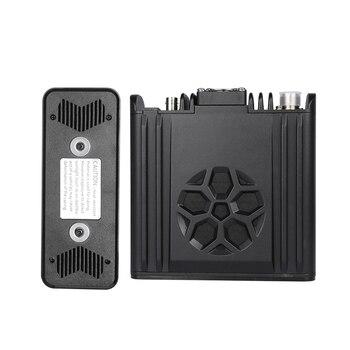 Zastone D9000 Car walkie talkie Radio Station 50W UHF/VHF 136-174/400-520MHz Two way radio Ham HF Transceiver 5