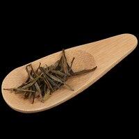 1PC Melone Samen Form Tropfen shaped Handmade Mini Bambus Tee Kugeln Kung Fu Tee Löffel-in Teeschaufeln aus Heim und Garten bei