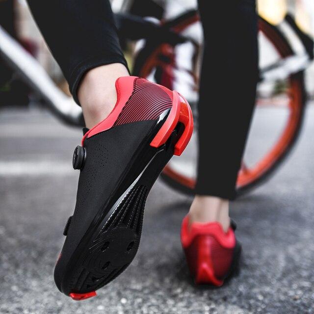 2020 nova upline sapatos de ciclismo de estrada dos homens sapatos de bicicleta de estrada ultraleve tênis de auto-bloqueio profissional respirável 2