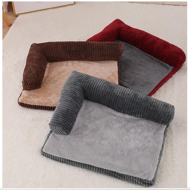 Luxury Large Dog Bed Sofa Dog Cat Pet Cushion Mat For Big Dogs   2