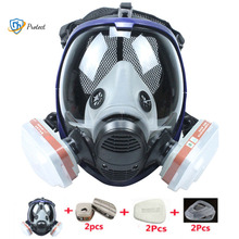 Spray Silicone Respirator Chemical-Mask Paint FULL-FACE-FILTERS Dustproof Laboratory-Welding
