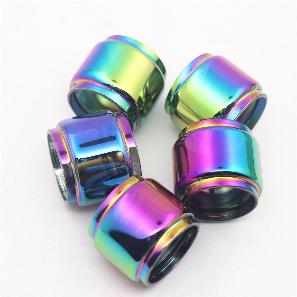 5pcs FATUBE Rainbow Bubble Glass TUBE for  ZEUS rta 4ML/Zeus Dual RTA 4ml/ZEUS X 3.5ml/Zeus Sub Ohm Tank 3.5ml mesh 5