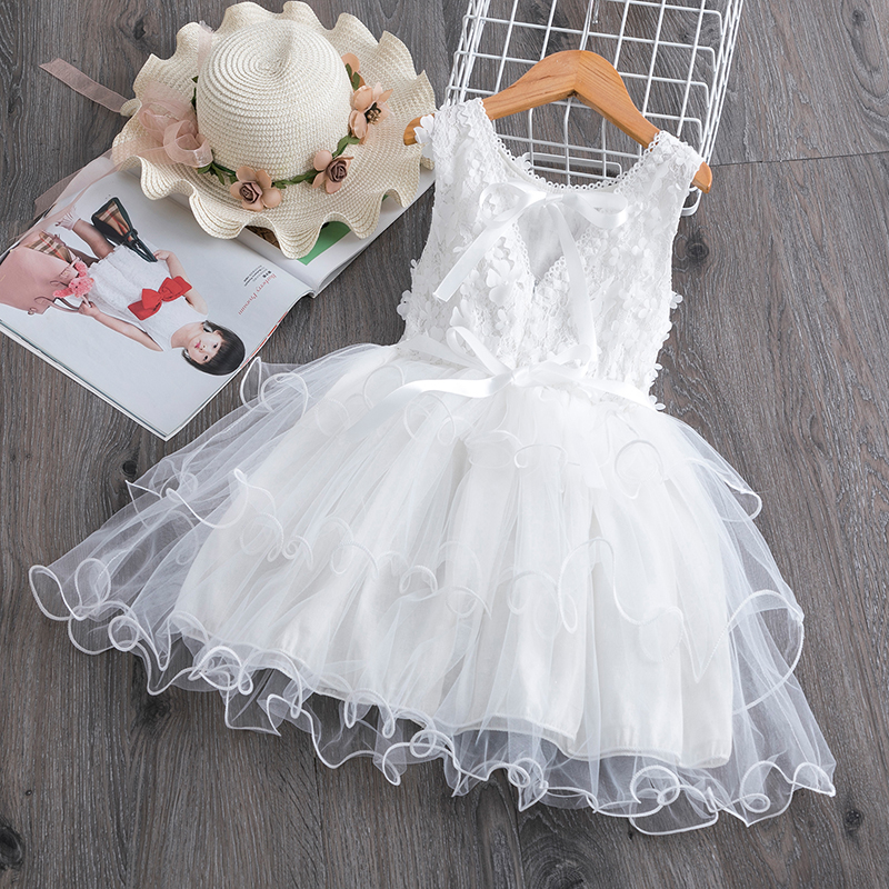 Princess Girls Dress Girls Clothes Children Clothing Summer Party tutu Kids Dresses for Girls Toddler Girls Casual Dress 3 8T