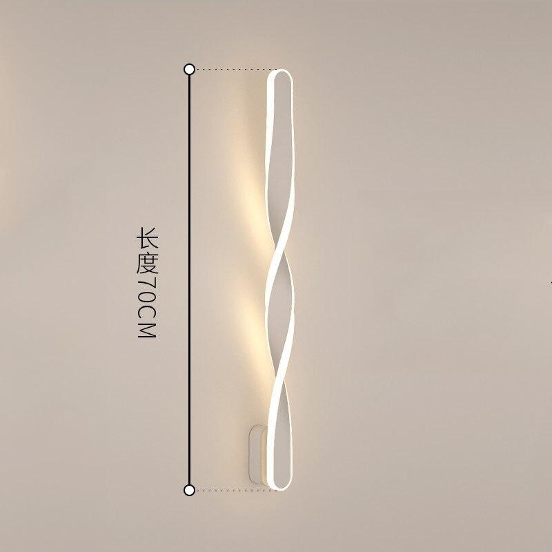 wecus designer especial 70cm lampadas parede 04