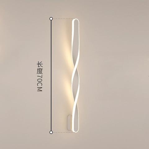 wecus designer especial 70cm lampadas parede