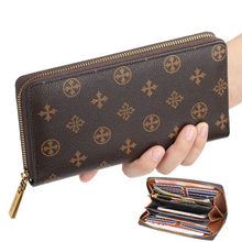 2020 Retro Women's Wallet and Purse Multi-functional Long Purse Zipper Phone Wallet Louis Money Luxury Designer Card Holder