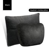 1pair for Mercedes Benz car headrest S class Maybach cervical pillow car seat car cushion pillow Auto lumbar decorative supplies