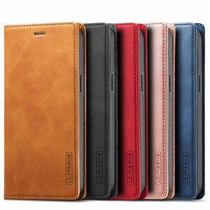 Image 5 - Per Iphone 12 Mini custodia su Iphone 11 Pro Max custodia custodia a portafoglio Super magnetica per Iphone X XR Xs 6 6s 7 8 Plus SE 2020 custodie