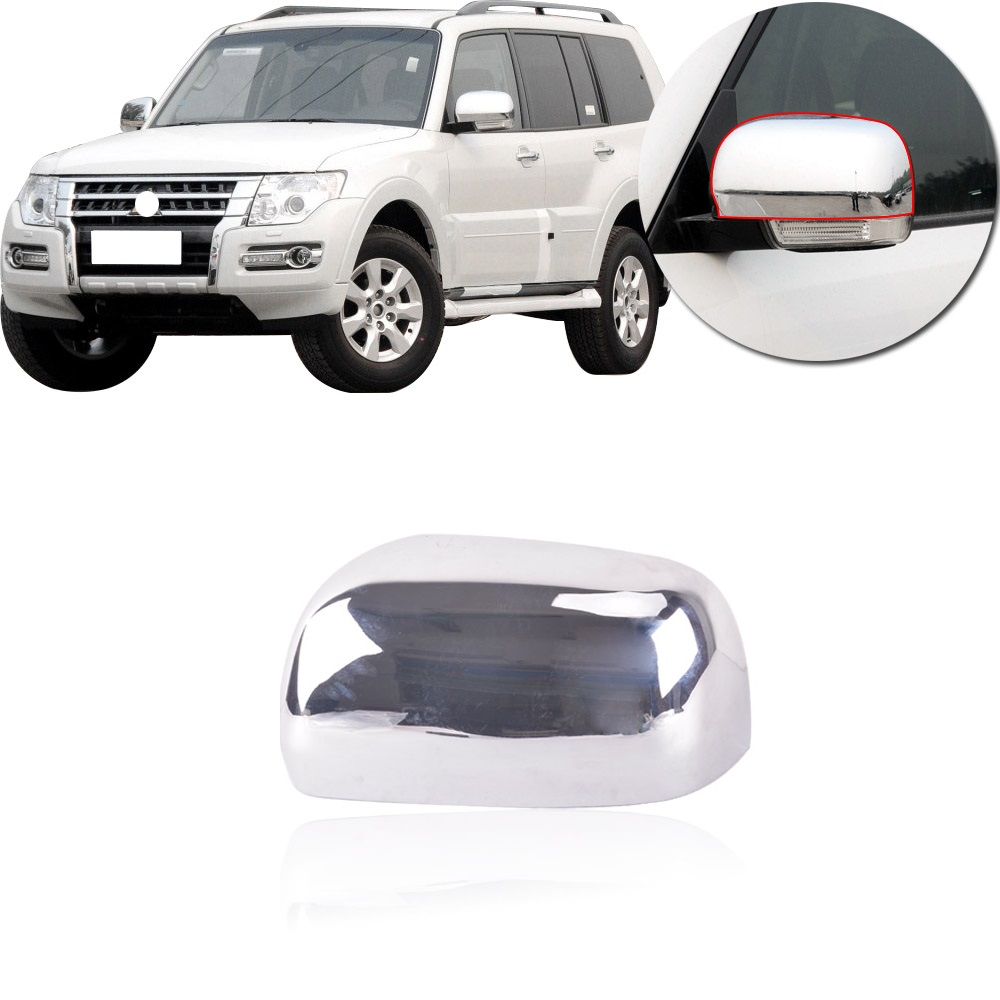 FOR HONDA PILOT 2009-2012 2013 2014 2015 CHROME MIRROR COVERS W//OUT TURN SIGNAL