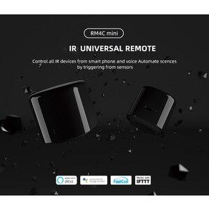 Image 2 - Универсальный мини переключатель Broadlink RM4C, ИК + Wi Fi, умный пульт дистанционного управления 4G для Ios, Android, поддержка умного дома Alexa/Google Home