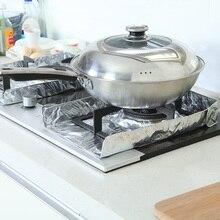 10 шт. кухонная алюминиевая фольга масляное перегородка аксессуары для кухни маслостойкий сепаратор для теплоизоляции маслостойкая сковорода Pa