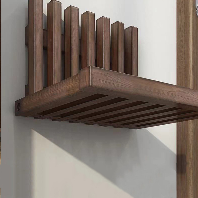 Wall Hanging Folding Stool Porch Chair  4