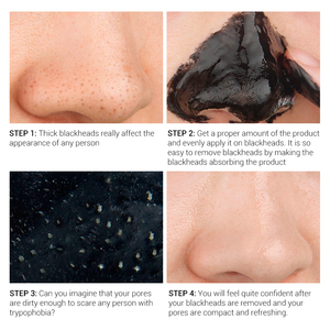 Image 5 - LANBENA Skin Care Black Mask Blackhead Remove Peel Off Nose Mask Face Deep Cleansing Mud Cream Acne Treatment Shrink Pore Beauty