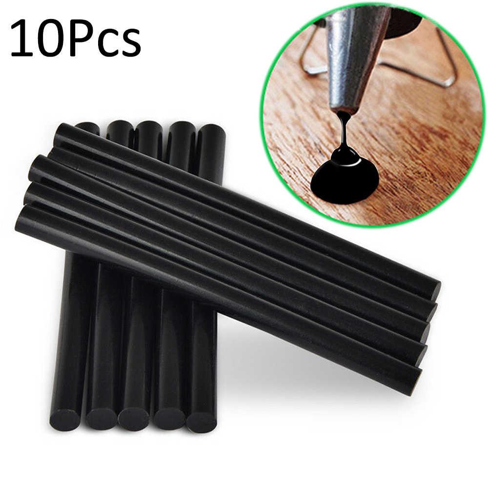 10 Uds. Herramienta de reparación DIY para la eliminación del granizo del cuerpo del coche palitos de pegamento fundido sin pintura Reparación de abolladuras al por mayor
