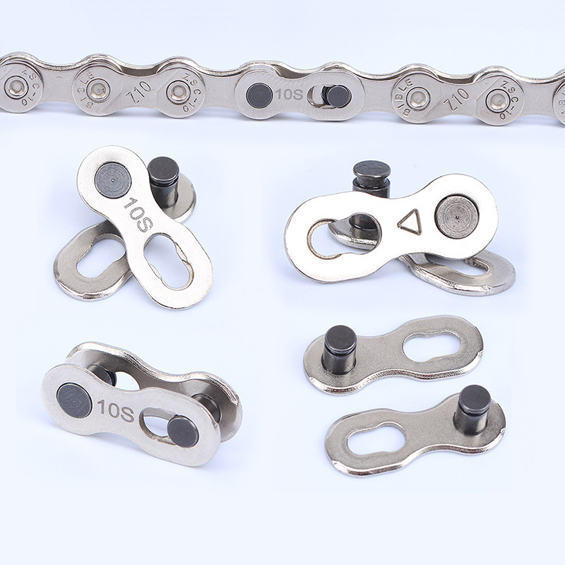 2pcs 6/7/8/9/10 Speed Bicycle Chain Link Connector Joints Magic Buttons Speed Quick Master Links Chain Mountain Bike Parts