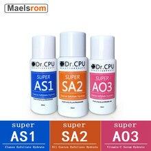 3 pçs/set 30ML Concentrado Solução Hidratante Soro Facial Líquido Para Hydrafacial Máquina de Limpeza Profunda Da Pele Cuidados Anti Envelhecimento Da Pele