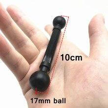 17 مللي متر مزدوج تحميل كروي محول المزدوج الكرة رئيس ل Gopro عمل كاميرا الهاتف الذكي لتحديد المواقع قوس محول