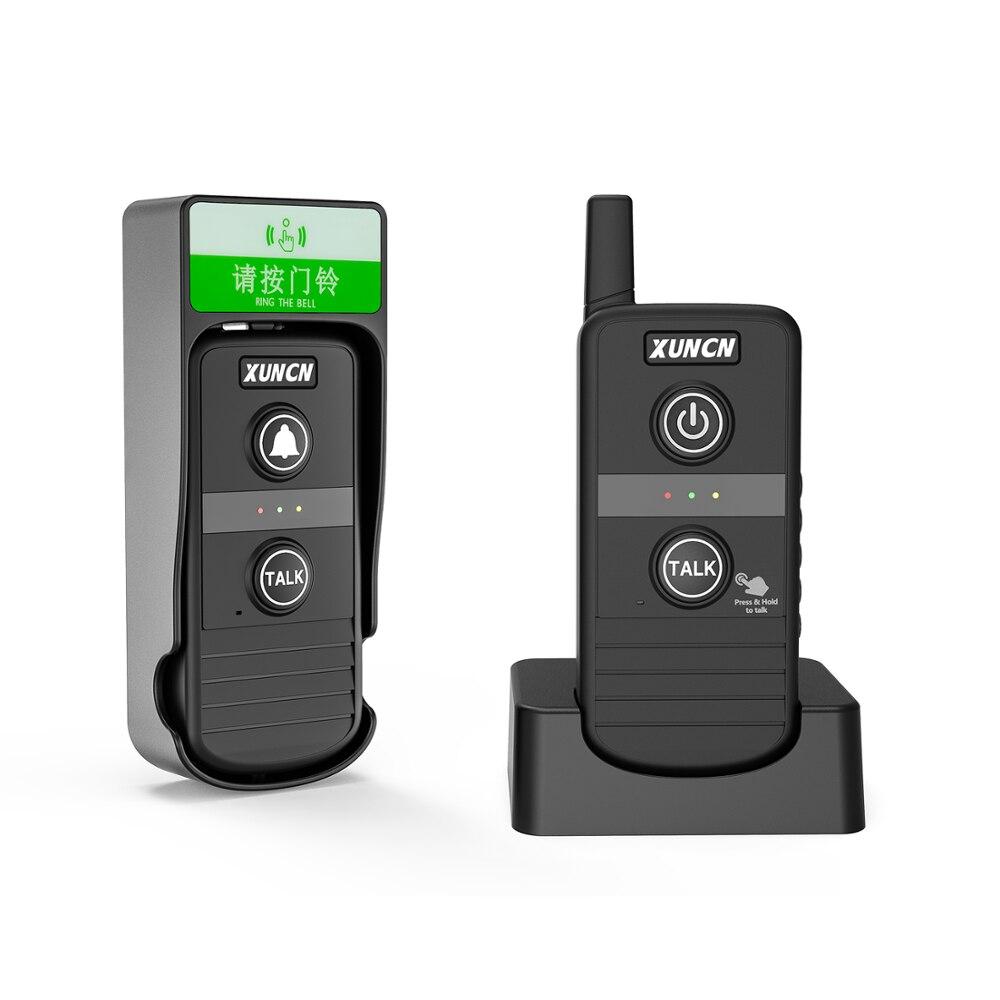 Wireless Intercom Doorbells for Home Classroom, Intercomunicador Waterproof Electronic Doorbell Chime with 1/3 Mile Range