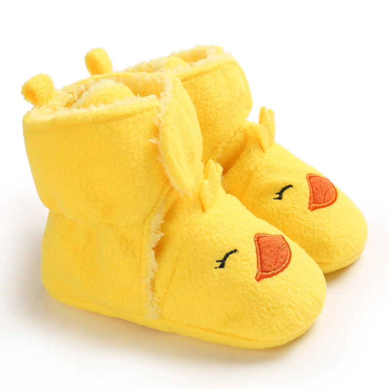 Fashion First Walkers Baby Shoes Winter Boots Boy Girl Shoes Soft Sole Anti-slip Sneakers