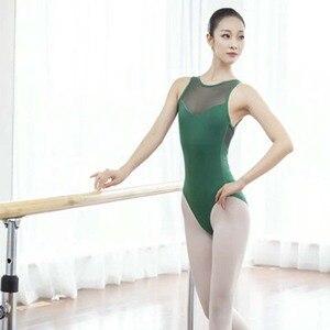 Image 5 - Justaucorps au dos pour femmes, vêtements de danse pour adultes, ensemble Sexy de gymnastique au dos, nouveauté 2020