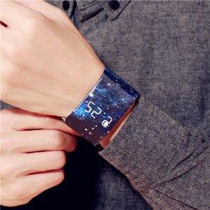 Image 1 - Waterproof  Wristband Paper Watch Good looking LED Clock Watch Creative Digital Paper Strap Watches Sport Watch Wristwatch