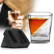 Silicone Ice Cube Mold Maker Whiskey Wine Drink Iced Mould without Cup Bar Tool Ice Whiskey Glass Wine Liquor Silicone Ice Mold ice cube maker silicone bucket durable drink beer wine rapid cooling storage drinking whiskey freeze seaside tool 4 7 inch