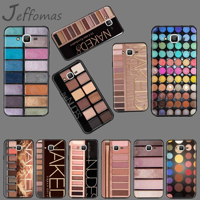 Eyeshadow Palette <font><b>girl</b></font> <font><b>sexy</b></font> High Quality Phone <font><b>Case</b></font> For Samsung <font><b>Galaxy</b></font> J2 J4 <font><b>J5</b></font> J6 J7 J8 <font><b>2016</b></font> 2017 2018 Prime Pro plus Neo duo image