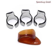 4 шт целлулоидные медиаторы для гитары пальчиковые целлюлоидные