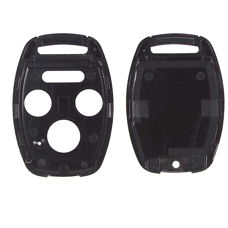 KR55WK49308, MLBHLIK-1T, N5F-S0084A Set of 2 Key Fob Keyless Entry Remote Shell Case /& Pad fits Honda Accord Civic Pilot