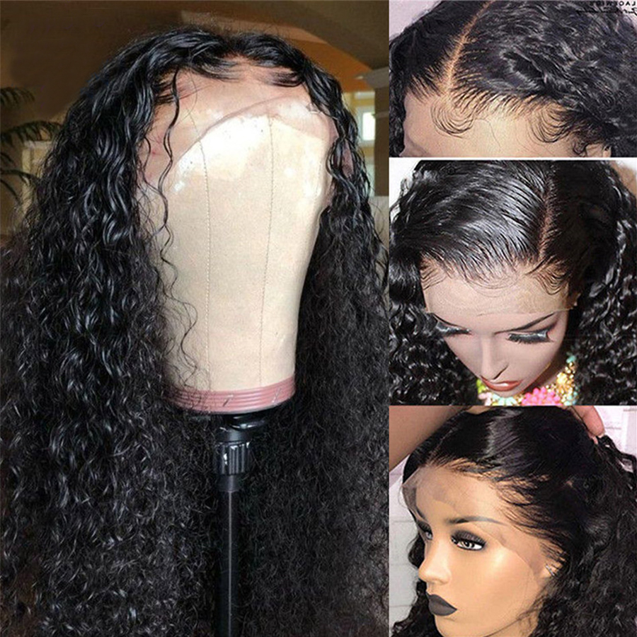 Deep Wave Lace Front Wig Lace Front Human Hair Wigs For Women Non Remy Dorisy Hair 10-24 Inches