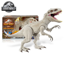 Jurassic World Indominus Rex Dinosaur Super Colossal Camp Cretaceous Movable Action Figure Toys for Kids Birthday Gifts GPH95