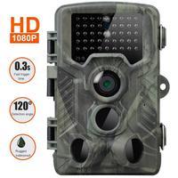 Caça câmera de vídeo 20mp 1080p trail câmera fazenda segurança em casa 0.3s gatilho tempo vida selvagem escondida foto armadilha hc800a vigilância|Câmeras de vigilância| |  -