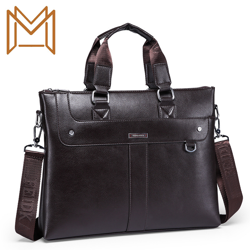 Male Package Business Affairs Business Affairs Leisure Time Male Package Man Single Shoulder Package Diagonal Portable Briefcase