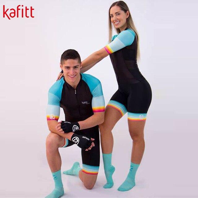 Kafitt nova pro equipe triathlon terno senhoras camisa de ciclismo macacão macacão bicicleta terno moletom 4
