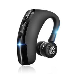 Беспроводные Bluetooth наушники с крючком, Бизнес Беспроводная bluetooth-гарнитура, сенсорные наушники с отпечатком пальца, с микрофоном для Xiaomi