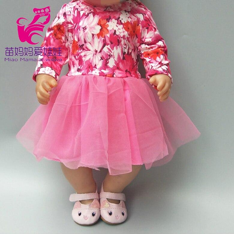 Nouvelle robe pour 43cm bébé poupée renaître bébés vêtements