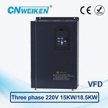 WK600 Vector Control frequency converter 15kw/18.5kw three-phase 220V to Three-phase 220V variable frequency inverter 440v 15kw three phase low power ac drive for water pump
