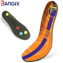 3ANGNI Elastic Men/Woman Orthotic Arch Support Shoe Insert  Flat Feet insoles for shoes Comfortable PU shoe Orthopedic insole
