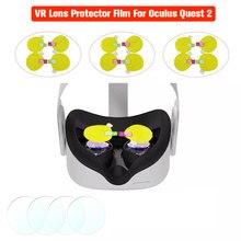 VR حامي عدسة فيلم ل كوة كويست 2 Rift S VR نظارات مقاوم للماء المضادة للبصمة المضادة للخدش