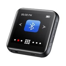 "Neueste RUIZU M4/A02 Musik Tragbare Mini Bluetooth MP3 Player 1.8 ""Full Touch Screen FM Radio E book Schrittzähler video Player HiFi"