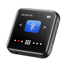 "Newest  RUIZU M4/A02 Music Portable Mini Bluetooth MP3 Player 1.8"" Full Touch Screen FM Radio E book Pedometer Video Player HiFi"