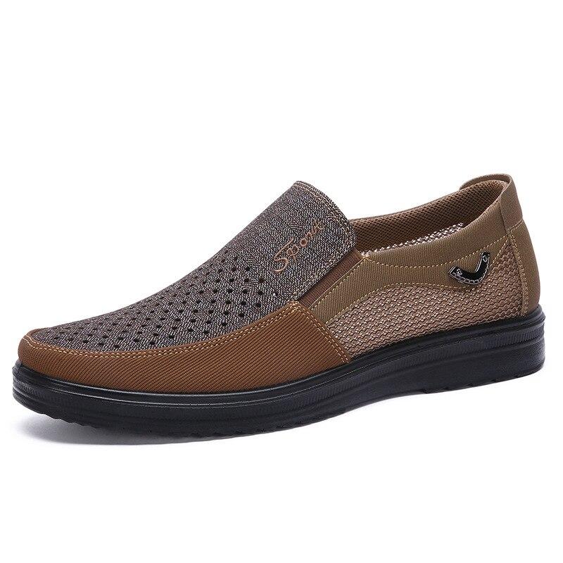 2019 nouveau respirant léger résistant à l'usure déodorant été chaussures pour hommes grande taille 48 caoutchouc doux bas hommes chaussures décontractées